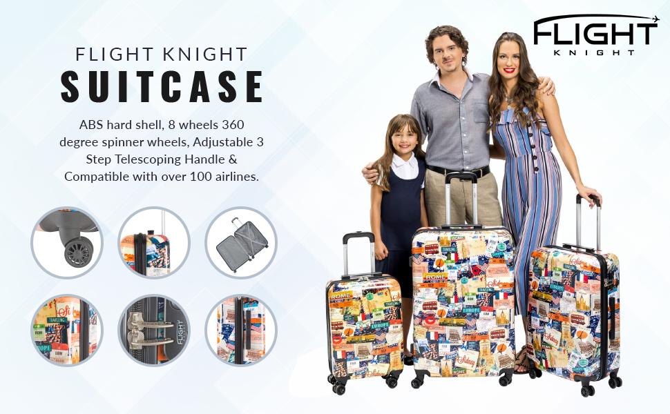 suitcase set of 3