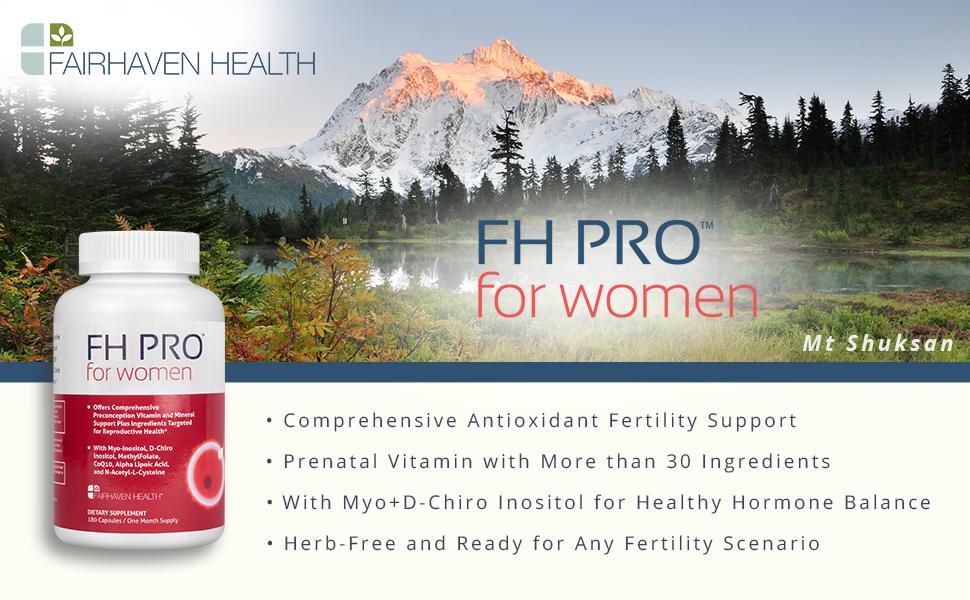FH PRO, fertility supplement, ivf, art, iui, fertility clinic, prenatal vitamin, myoinositol