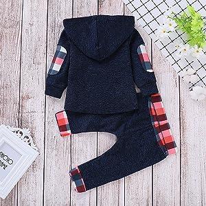 baby boy girl hoodie set
