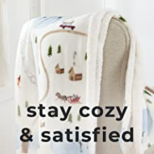 stay cozy satisfied