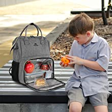 lunch backpack for  men