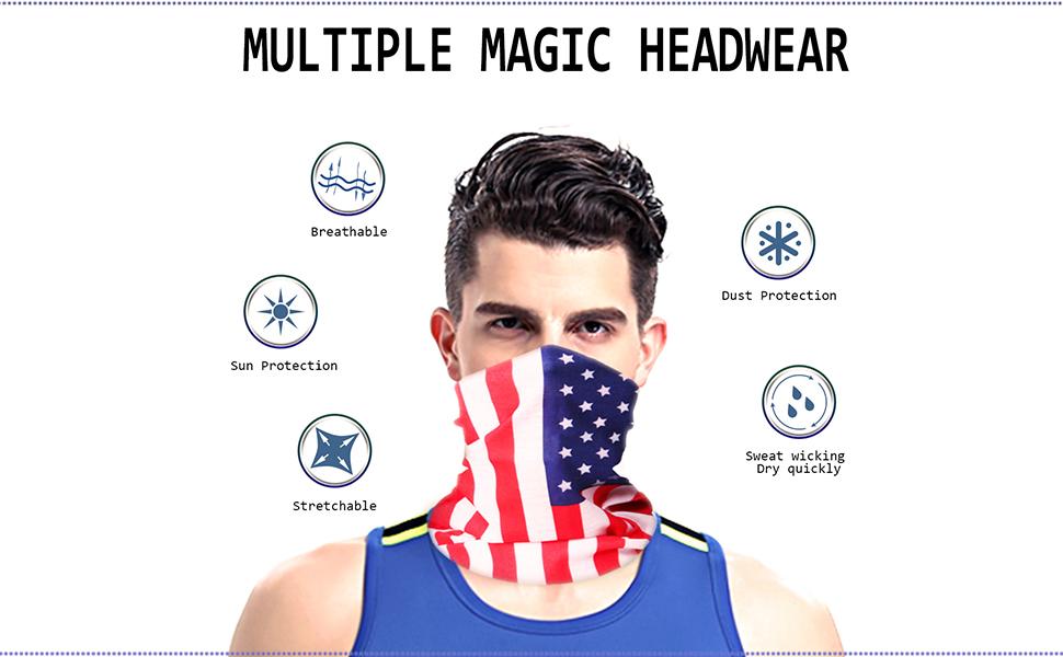 Hurley M/áscara de cuello multiusos ligera