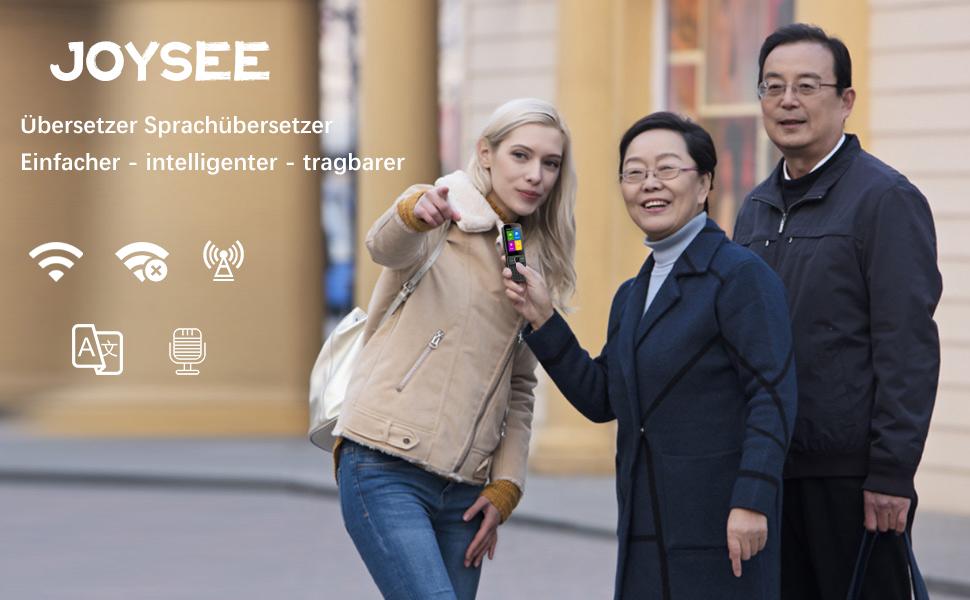 Voice Translator Bidirektionale /Übersetzungen WIFI Offline mit Foto-/Übersetzung Tragbar Sprach-/Übersetzer f/ür Urlaub Lernen Reisen /Übersetzer Sprach/übersetzer mit 130 Sprachen