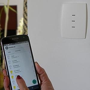Interruptor inteligente com Wi-Fi que funciona com Alexa