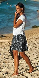 Ripskirt, Hawaii, Wrap, Cover-up, Skirt, Sun, Beach