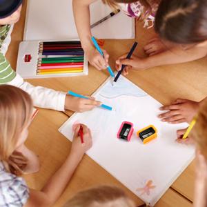 Pencil Sharpener For Drawing Crayons