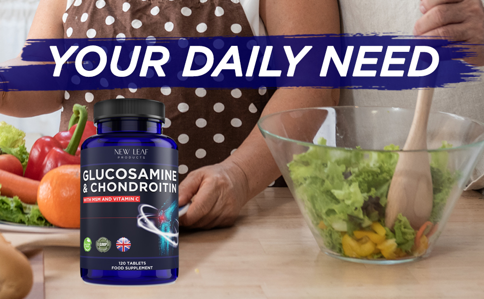 Glucosamine and Chondroitin with MSM and Vitamin C