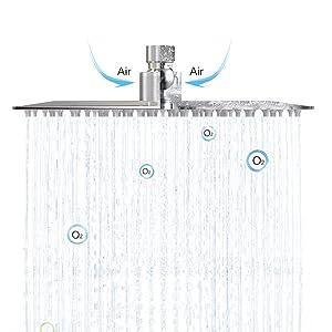 rain shower head
