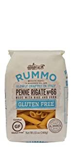 Rummo Pasta Gluten Free Penne Rigate No. 66