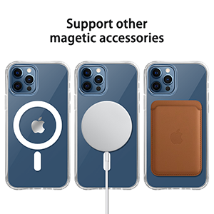 Magnetic Case for iPhone 12/12 Pro