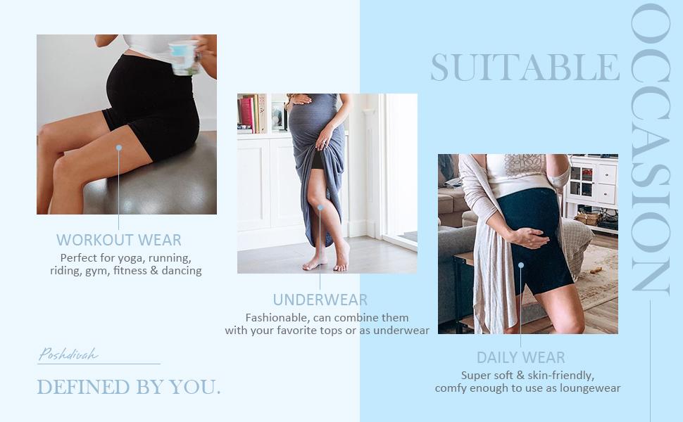 maternity activewear shorts