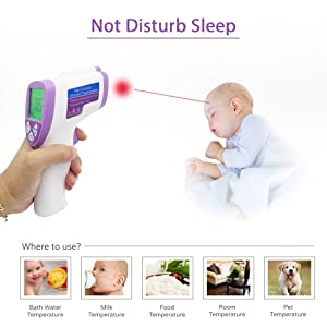 infrared forehead thermometer gun laser for baby