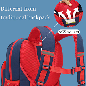 AGS system of teck boys backpack