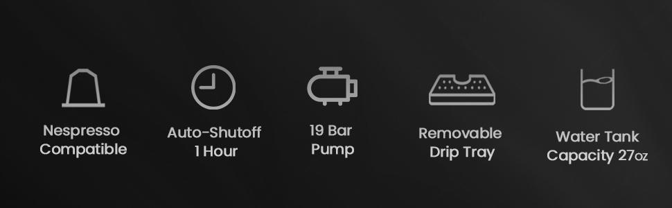 Icons , coffee machine