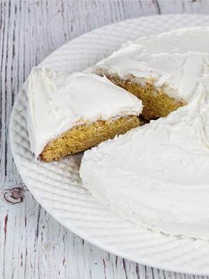 Keto and Co vanilla cake