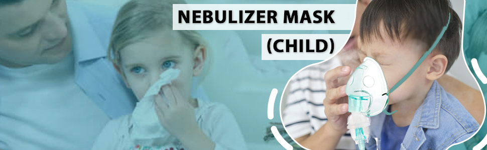 child mask for nebulizer for face for child kids children nebulizer kit