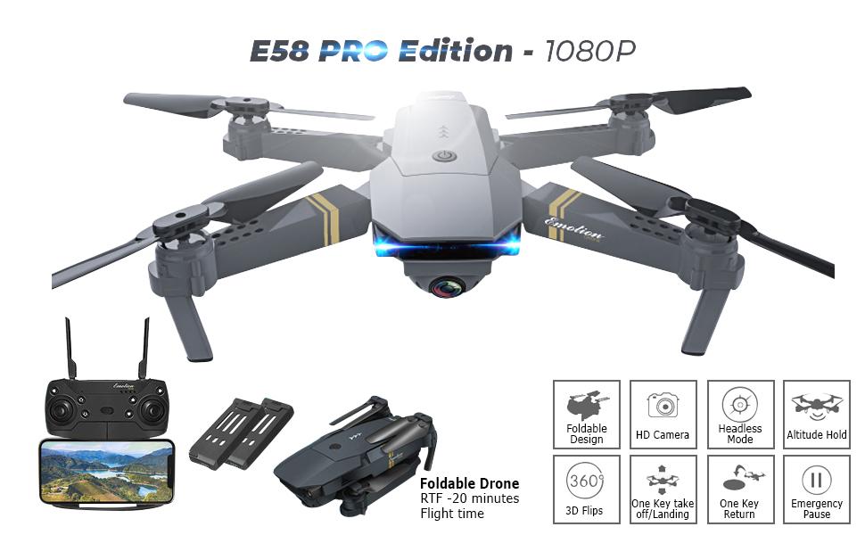 e58 fvp drone x pro prox