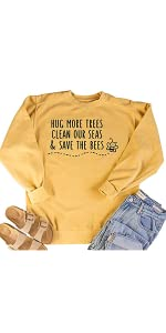 save bee sweatshirt