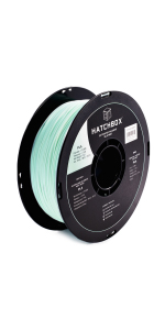 pla silk mint 1.75mm 3d printer filament is an easy to use material with minmal warping