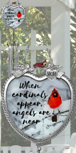 mom mother mother-in-law cardinal sympathy memorial