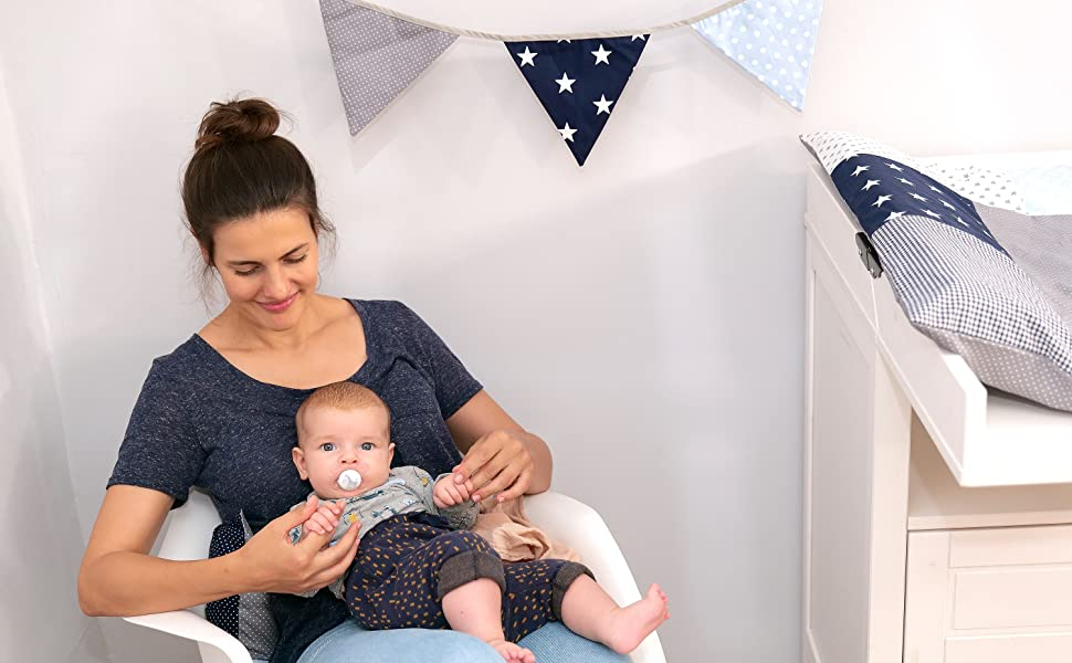 Ullenboom-baby-brand-fabric-bunting-flag-garland-pennant-cotton-banner