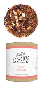 blood orange loose leaf tea company subscription