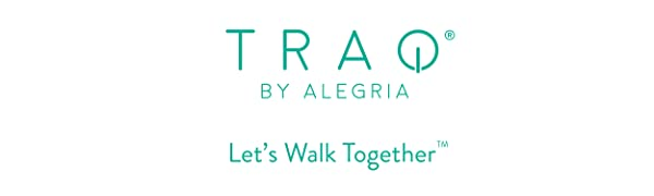 TRAQ by Alegria - Stylish and comfortable smart shoes with fitness tracking app and pedometer.