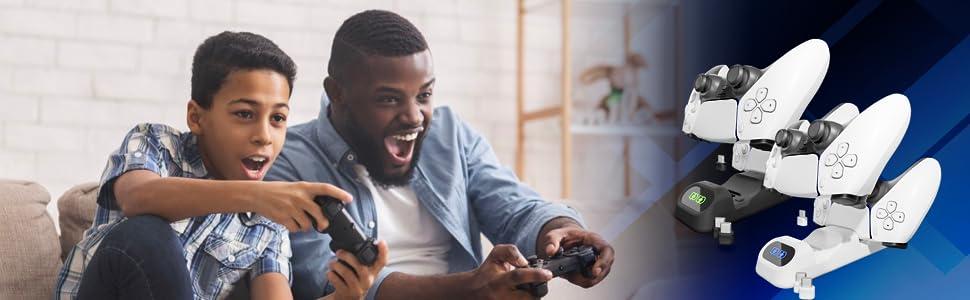 PS5 Dualsense Support de charge pour manette PlayStation 5