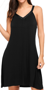 Womens Sleeveless Sleepwear