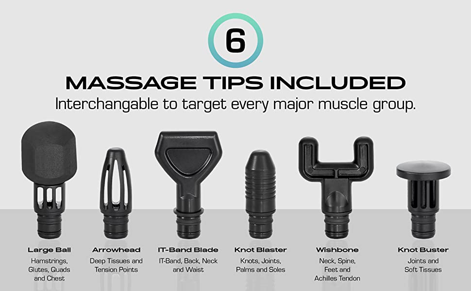 Massage Tips Included