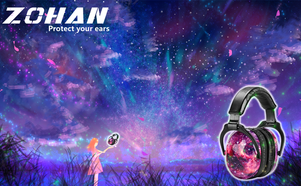 ZOHAN 030 Kids ear defenders children