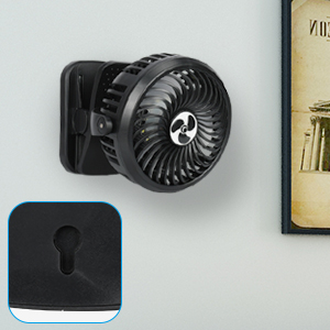 TAECCL Desk Fan, Portable USB Fan Silent Rechargeable