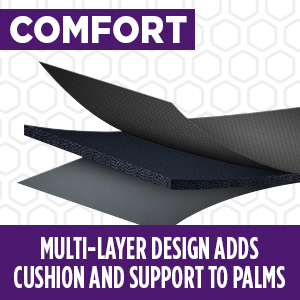 performance grips multi-layer cushion design