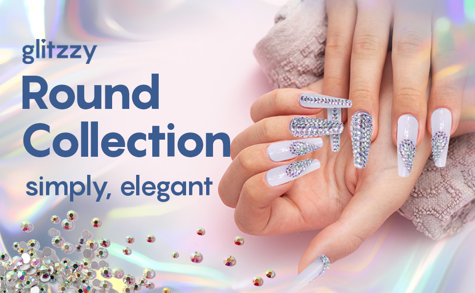 Rhinestone crystals, nail art supplies, nail art