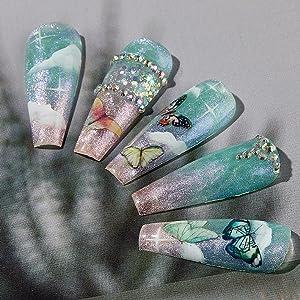 Mariposa Mayhem polygel nail kit
