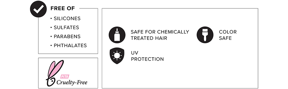 living proof, free-of, color care, science, hair care
