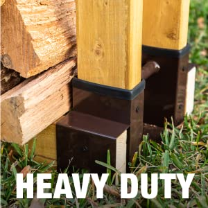 heavy duty seal strip firewood brackets