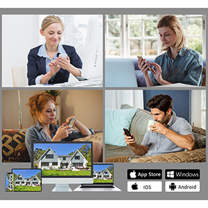 Support multiplayer online viewing, mobile phone, computer, Ipad