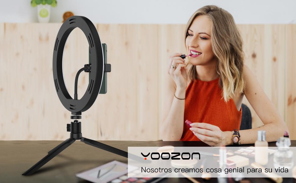 Yoozon Luz de Anillo LED 10