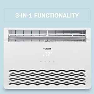 3-in-1 functionality