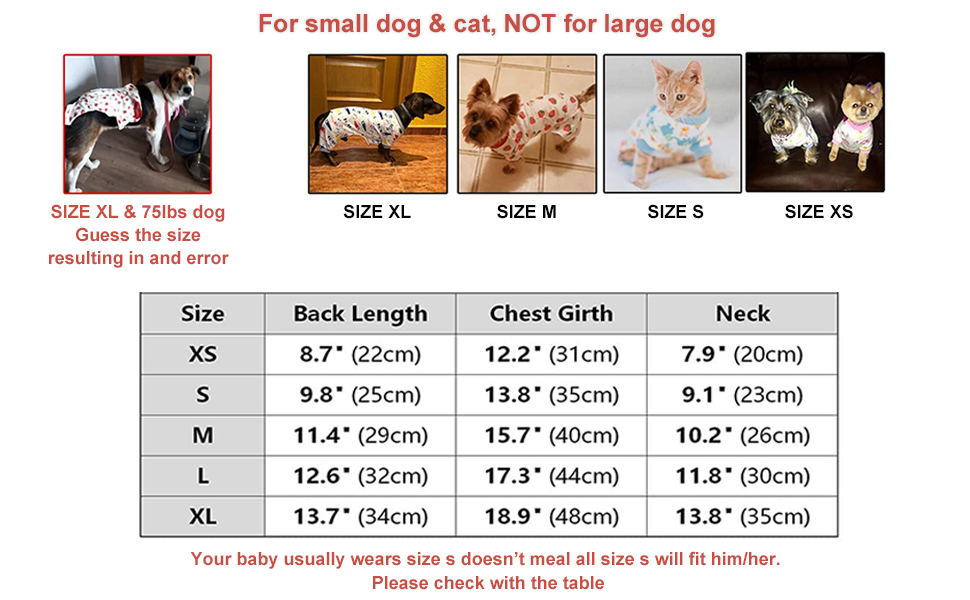 not for large dog