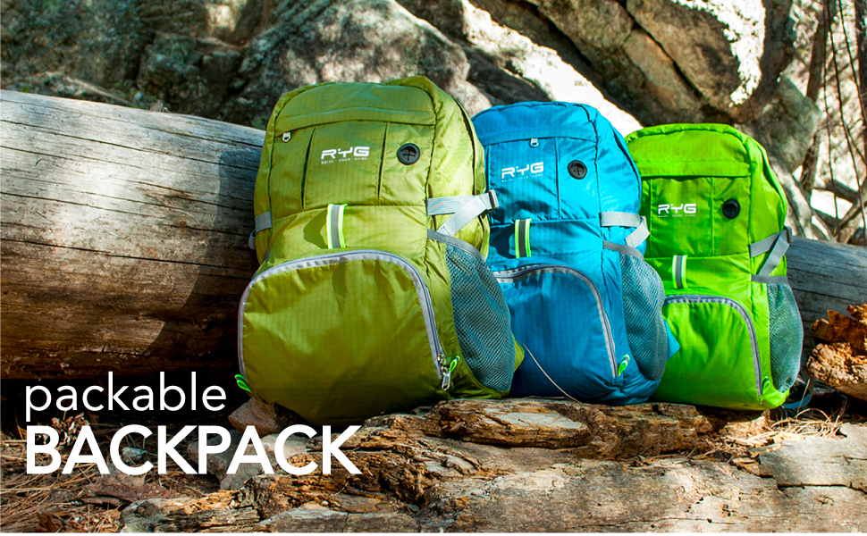 travel backpack hiking women waterproof men gear carry on camping day pack packable lightweight