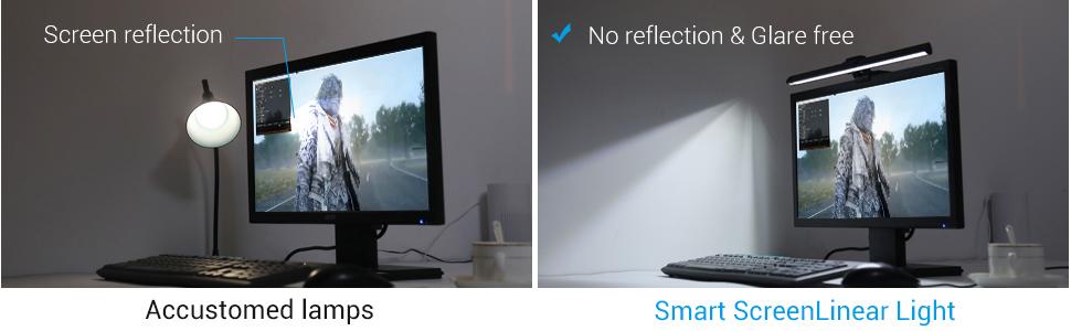 computer monitor Light