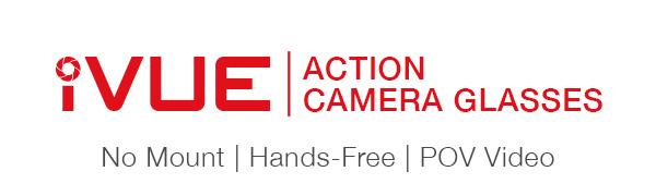 iVUE Logo | Action Camera Glasses