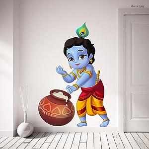 wall stickers bal krishan