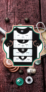 T-Shirt Alignment Ruler(4 rulers)