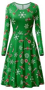 Womens Ugly Christmas Dress