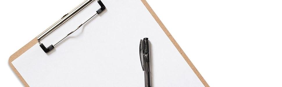 clipboard clipboards office supplies clip board set bulk clip boards classroom school wood wooden