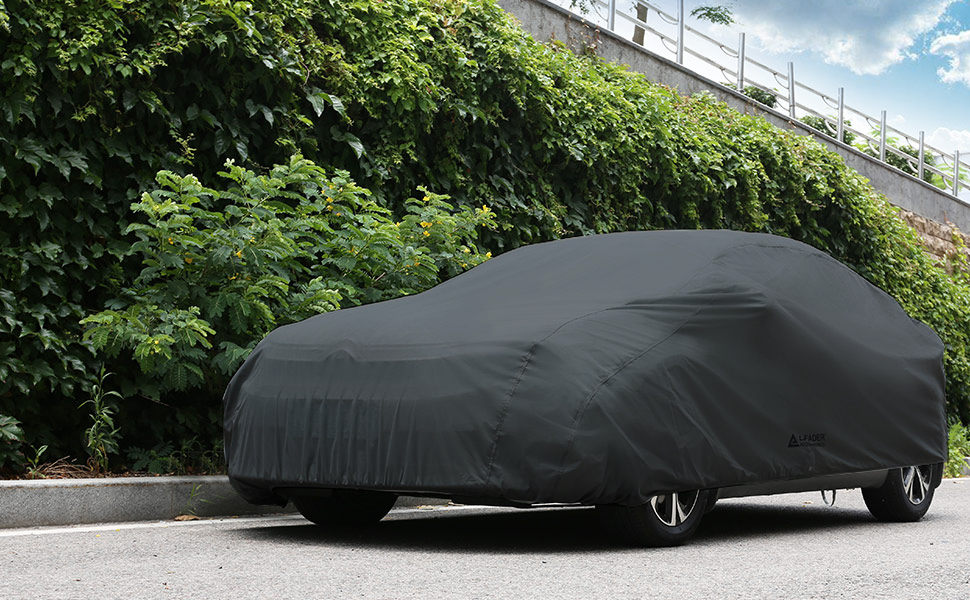 Audi R8 Outdoor Bespoke Breathable Fitted Outdoor Car Cover Black /& Grey