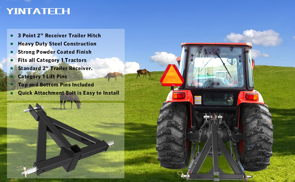 Point hitch three tractor 3 Point